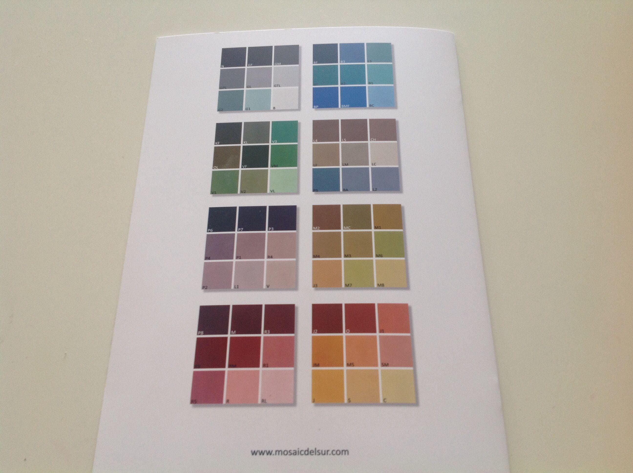 Mosaic Sur dernière page du catalogue mosaic sur carreaux de ciment