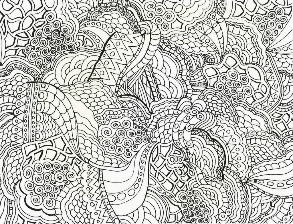 Complex Letters Coloring Pages For Adults Coloring Page For Adults ... | 783x1024