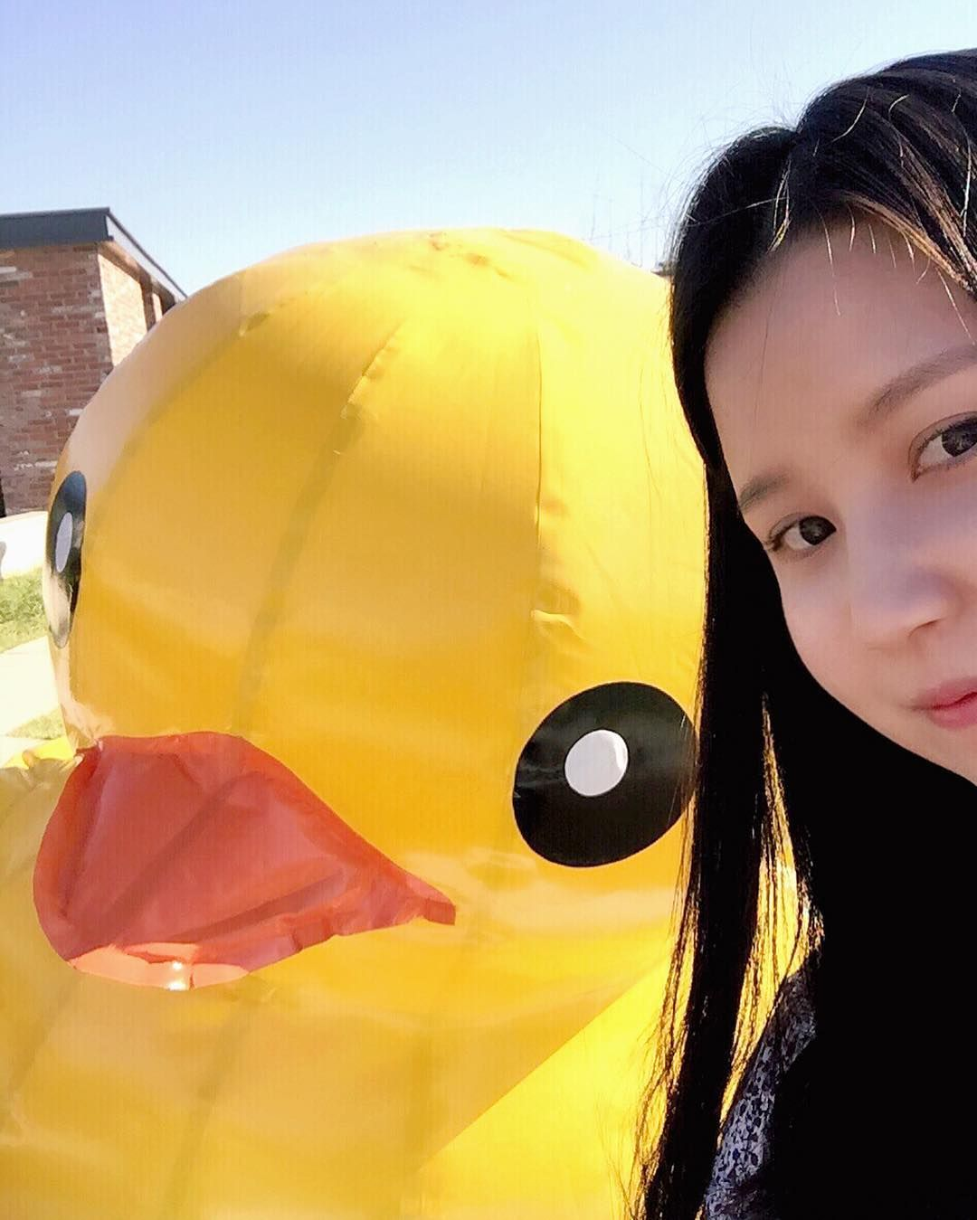 #셀카 #셀피 #러버덕  #selfie #rubberduck #dailypic by luvlyduckling