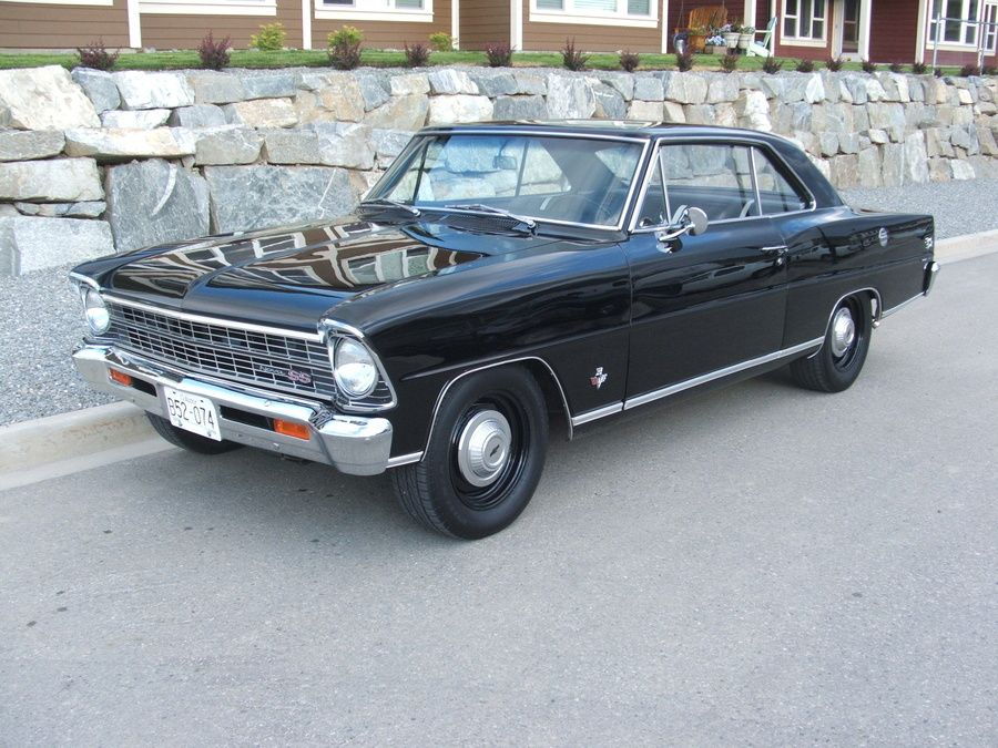 '67 Nova SS (bless the person for keeping the stock rim's)