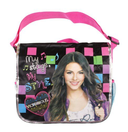 Nickelodeon Victorious My Stage My Style Messenger Bag - Listing price: $34.95 Now: $12.30 + Free Shipping