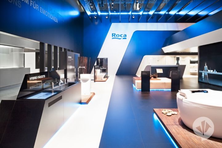 Roca Fair Stand At Ish 2011 By Dan Pearlman Hannover Design Hannover Shop Interior