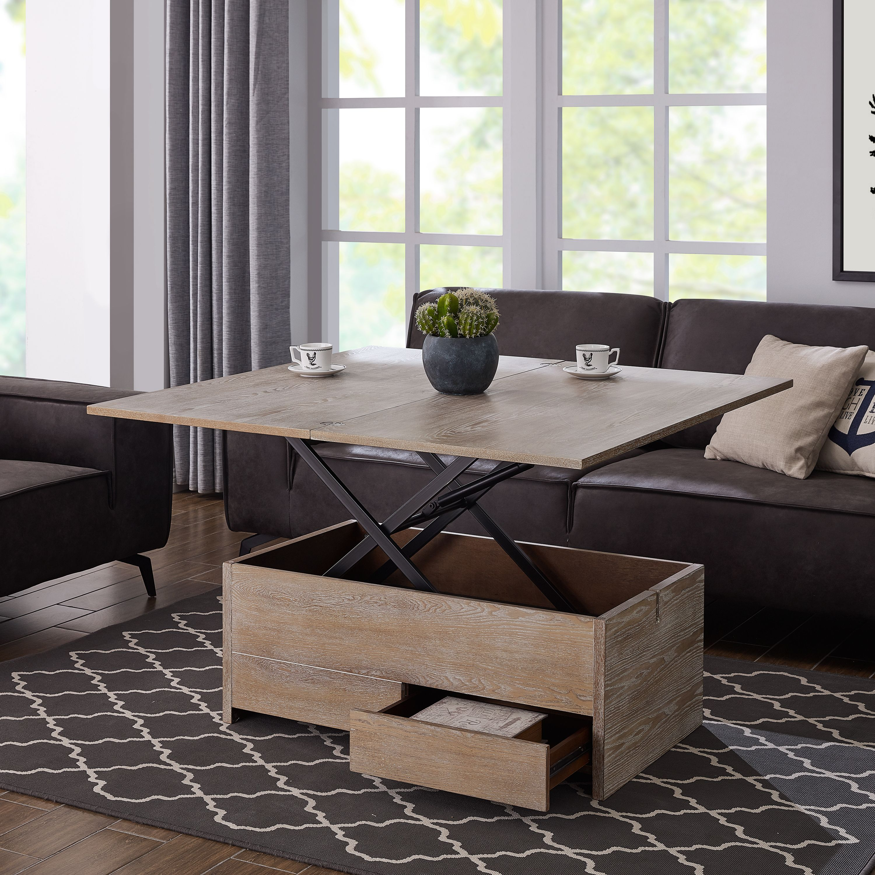 Convertible Dining Table Target Walmart Acor Convertible Storage Coffee Table To Dining Table Walmartcom Coffee Table To Dining Table Coffee Table Living Table [ 3000 x 3000 Pixel ]