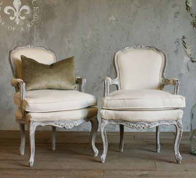 French Country Vintage Antiques Chairs Vintage French Country