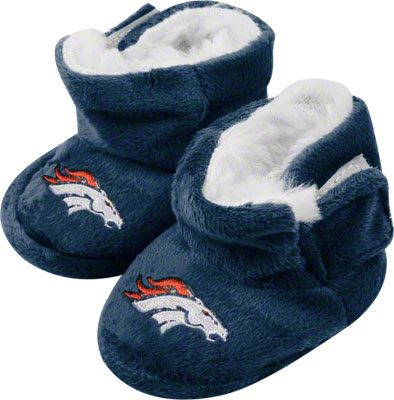 Baby Broncos Booties! Too Cute.  a68c21f39