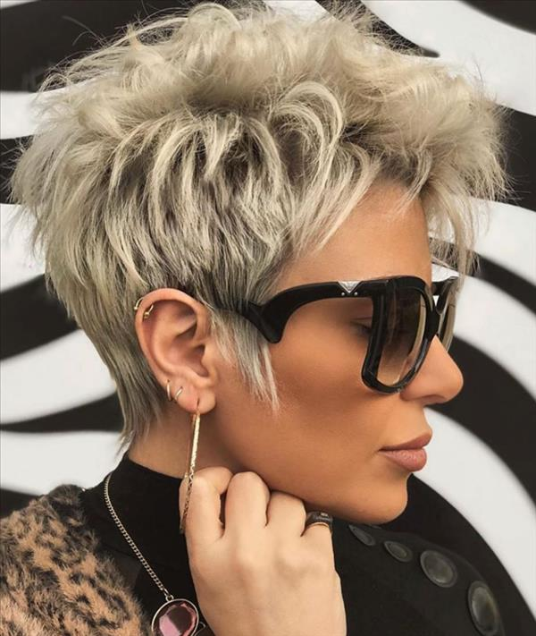 How To Get Your Short Haircut To Be A Chic Hairstyle – Latest Fashion Trends For Woman