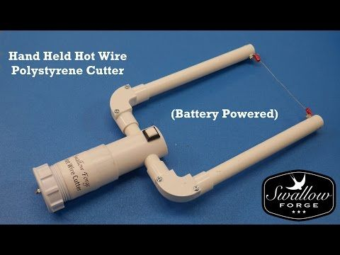 How To Make A Hand Held Hot Wire Foam Polystyrene Cutter Battery Ed Styro Slicer You