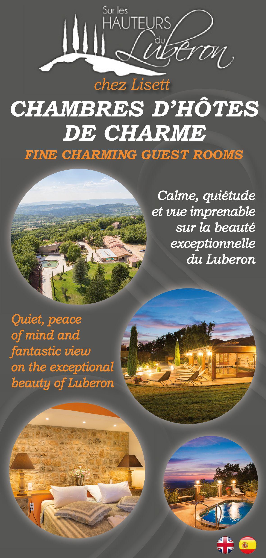 Carte De Visite Chambre Dhotes Luberon
