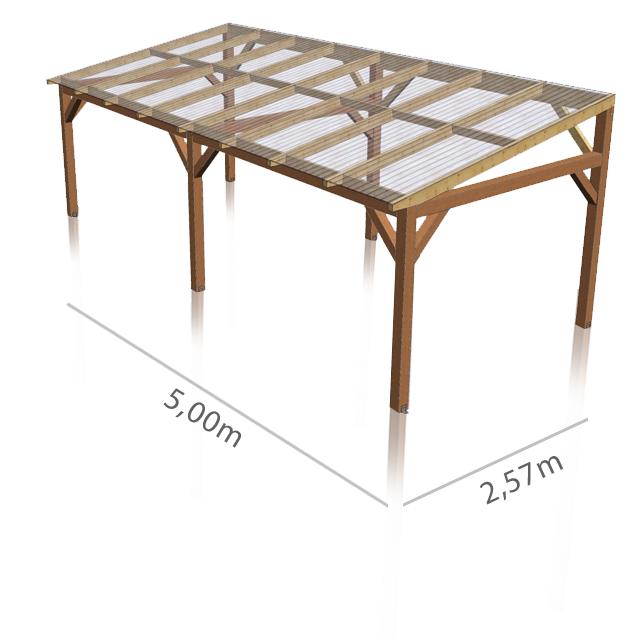 Panneau De Toiture Ondule Translucide En Polycarbonate Recherche Google Plans De Pergola Idees Pergola Pergola Design