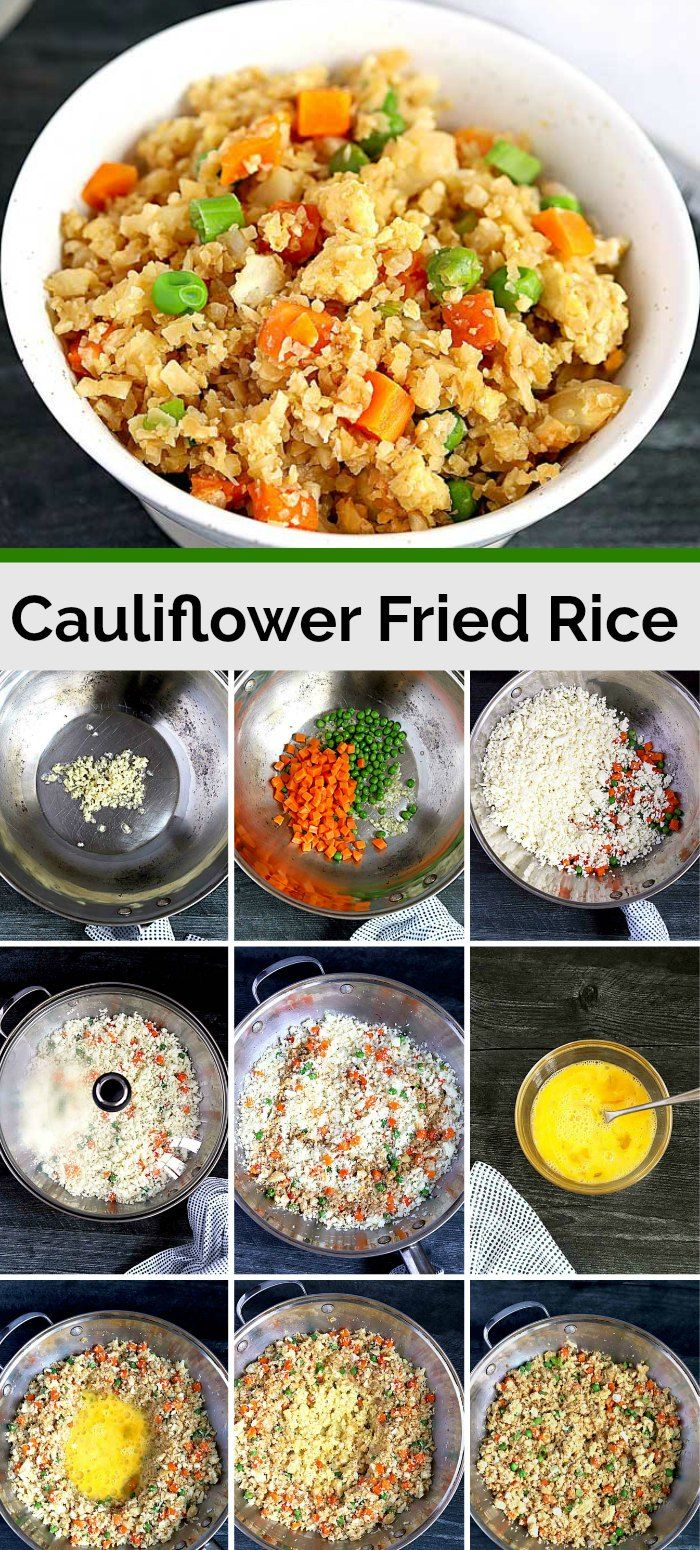Cauliflower Fried Rice #cauliflowerfriedrice