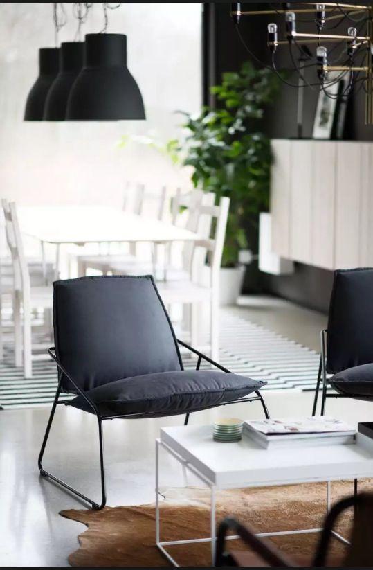 Villstad Stoel Van Ikea Ikea Style In 2019 Wohnen
