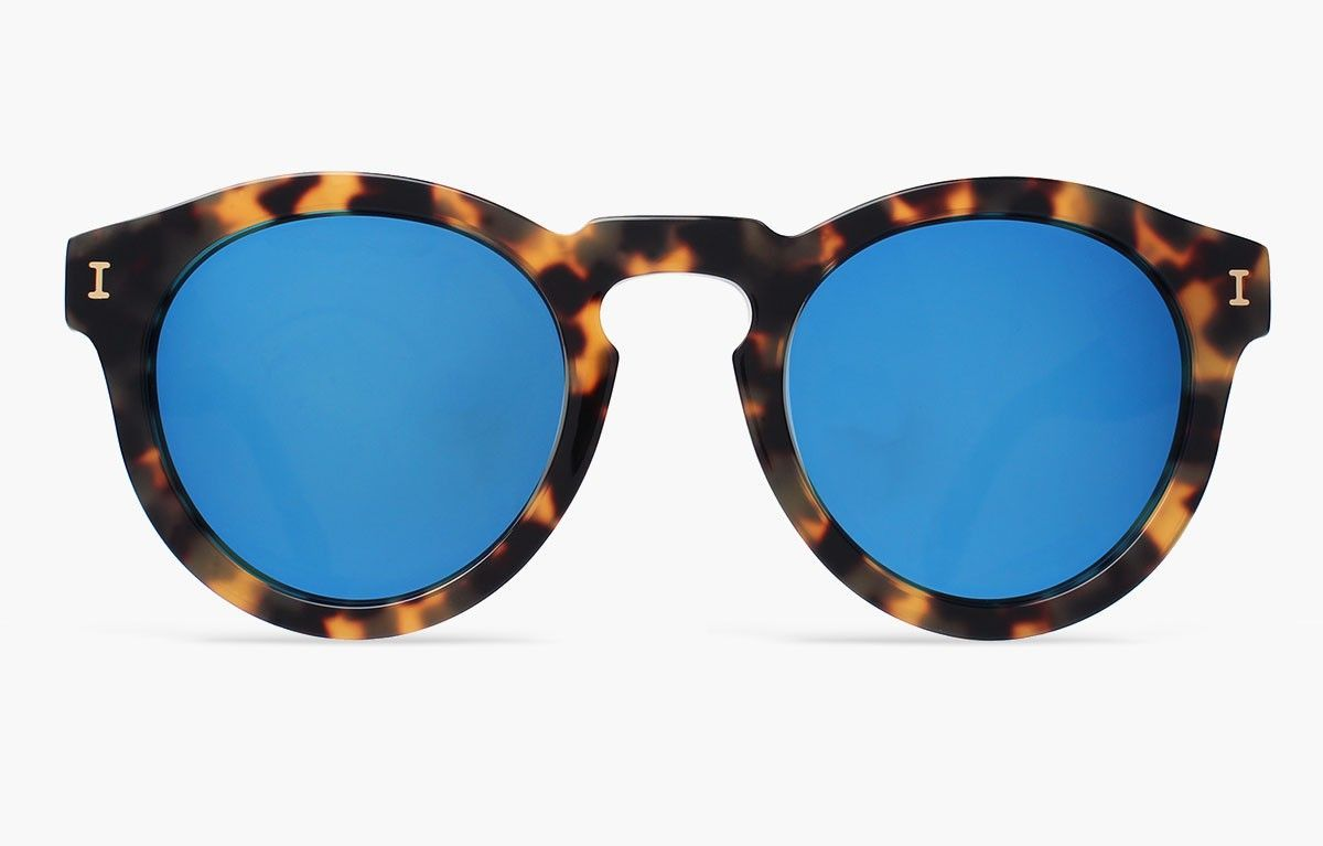 662afec2f Leonard Tortoise with Blue Mirrored Lenses   Sunglasses Styles ...