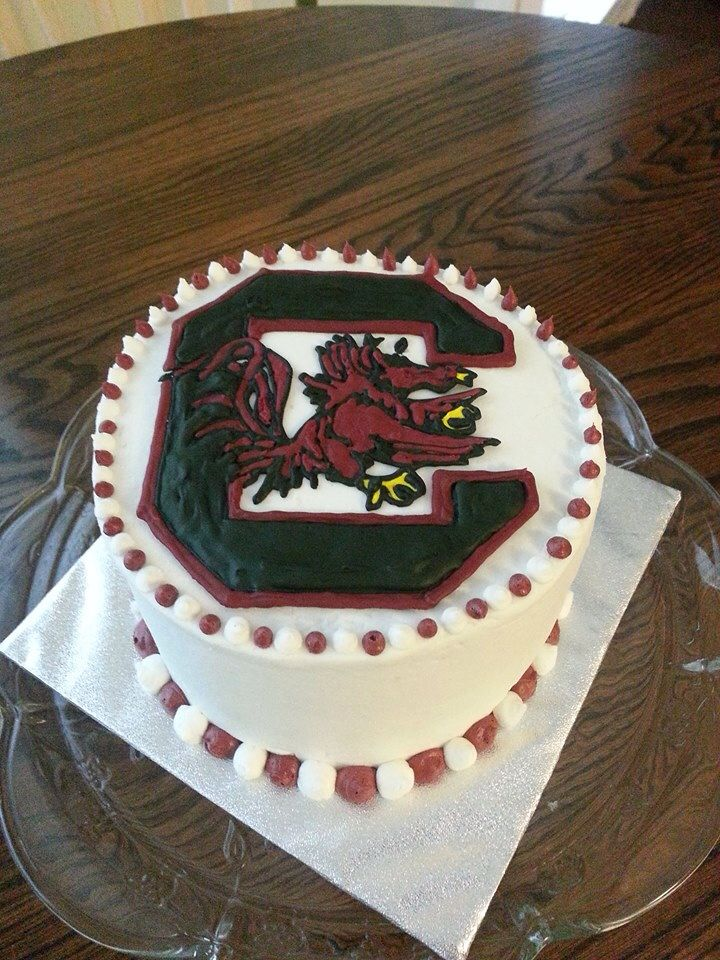 University Of South Carolina Gamecock Cake Baked Goods By Me