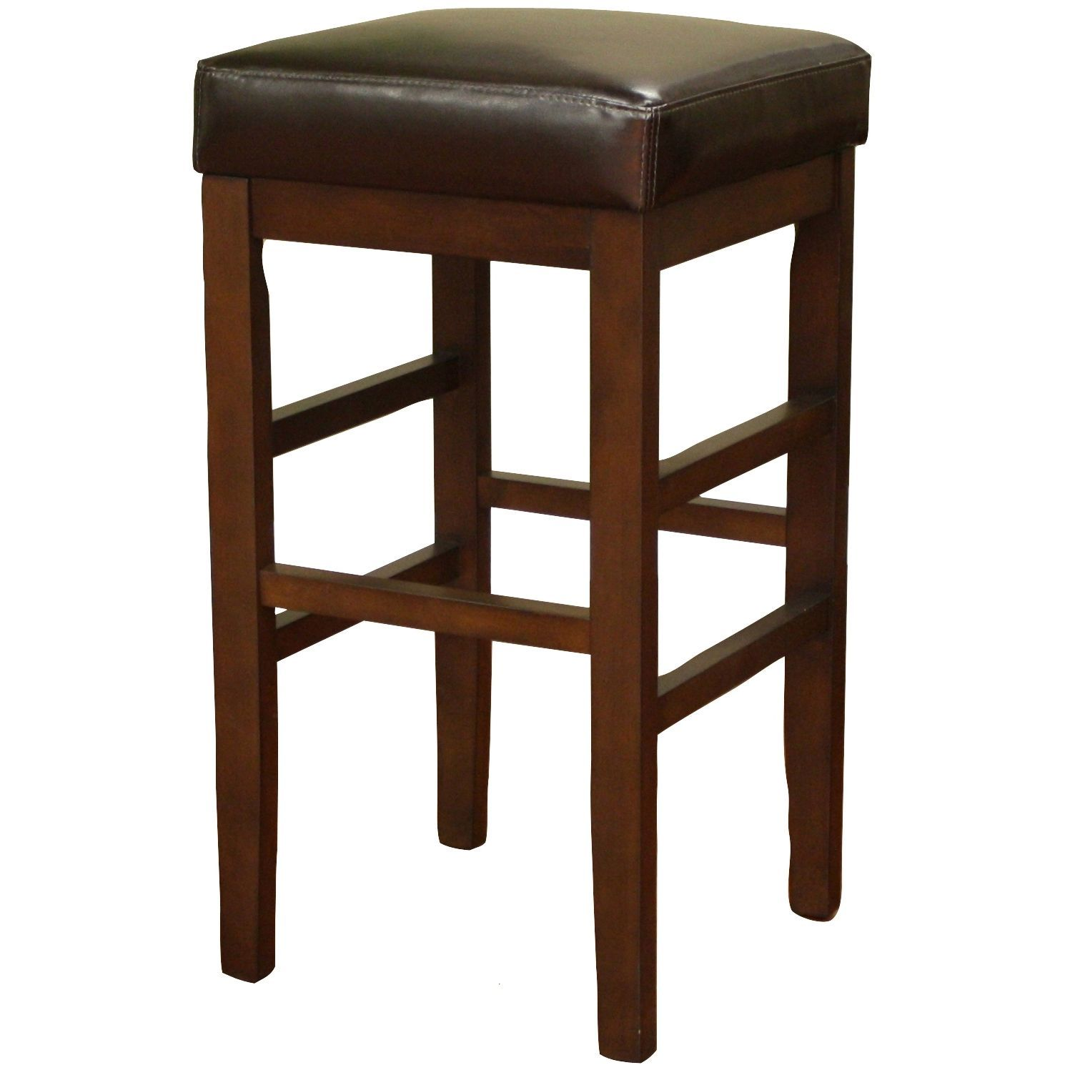 swivel stools wood stool best foter bar cherry new saddle inch of seat furniture
