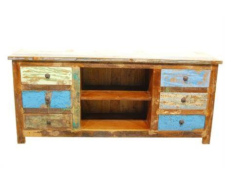 Tv Kast Sloophout Shf 1014 Meubels Furniture Home Decor