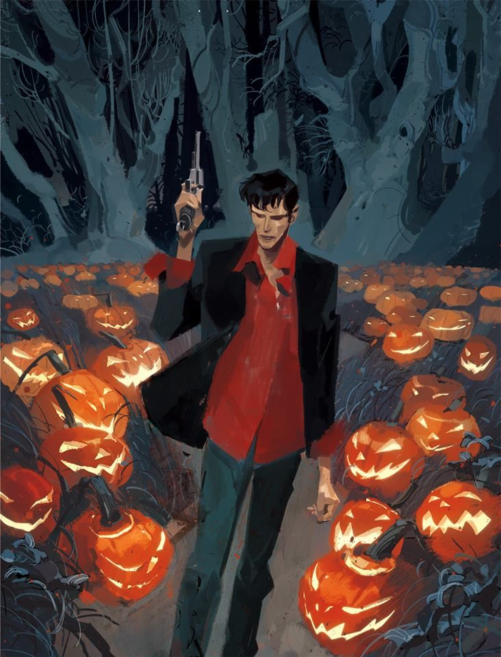 DYLAN DOG | Maxi Old Boy - cover di Gigi Cavenago.