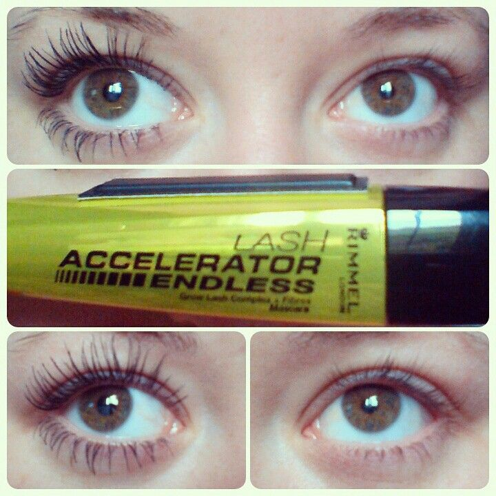 c8b41afa46c #AkcherrybombReview Rimmel Lash Accelerator Mascara. 10/10 for long lashes,  no clumps, not gloopy.
