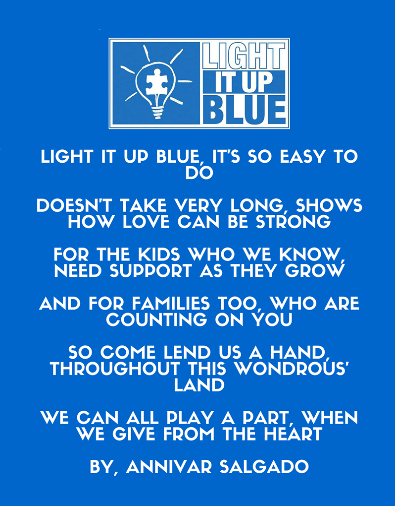 AUTISM SPEAKS: Light It Up Blue Celebrates Autism Awareness Month. Join The  Global Community