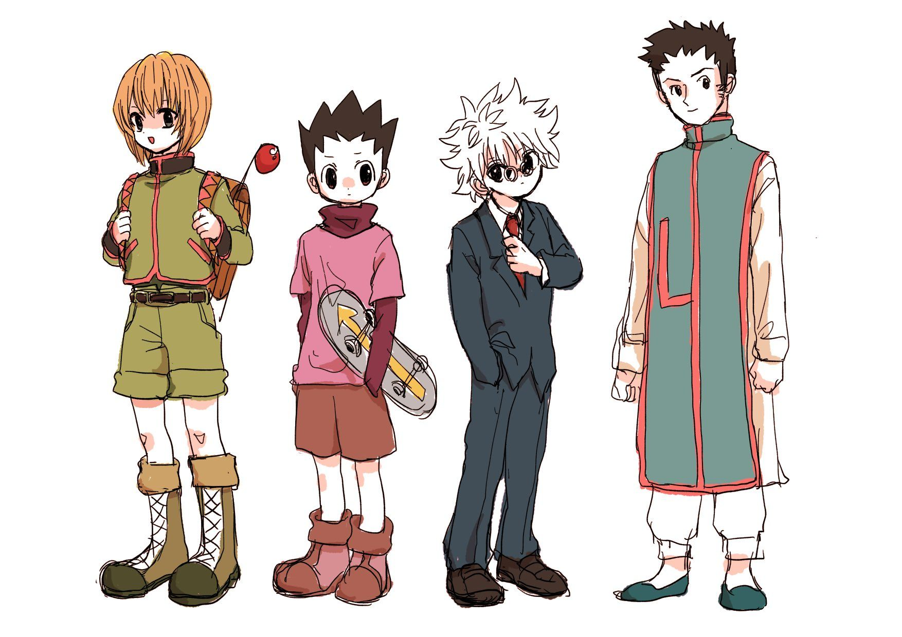 からからこ🍓 on Hunter x hunter, Killua, Anime