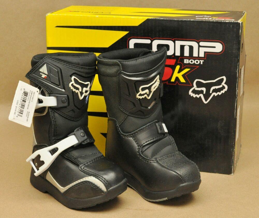 eBay Advertisement) New NWT Fox Pee Wee Comp 5K Boots