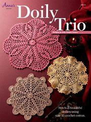 Crochet Doily Patterns - Doily Trio