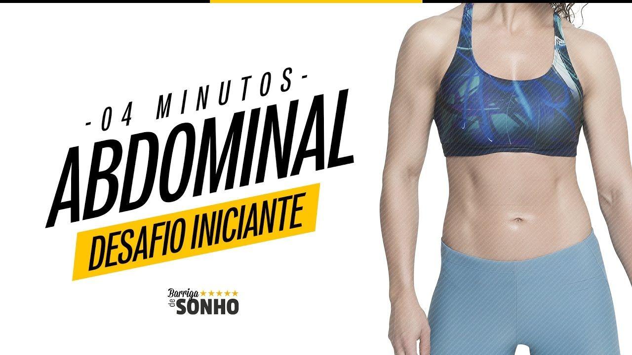 Barriga Chapada - Desafio Iniciante 4 Min | Barriga De Sonho - Raquel Qu...