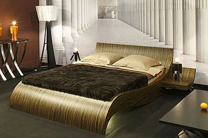 Designing Concussing Bedroom Presenting Comfy Double Beds Double Beds With Gold Nuance