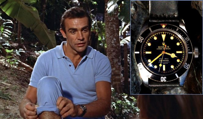 There isn't a doubt that Rolex submarine reference 6538 is one of the best  wrist watches worn by James Bond, Sean Connery while playing 007 in Dr. No  and ...