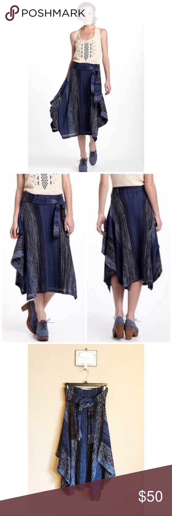 Women's Clothing New With Tag Anthropologie Skirt