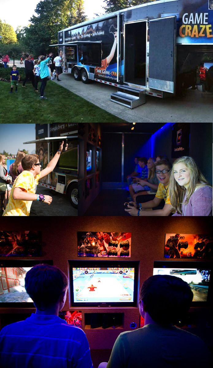 Video Game Truck Mobile Video Game Truck Video Game