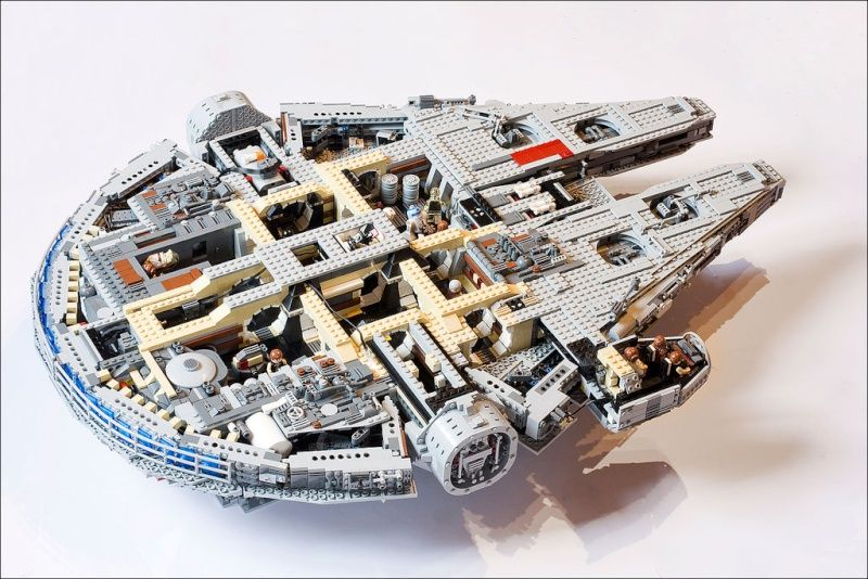 millennium falcon lego instructions 10179