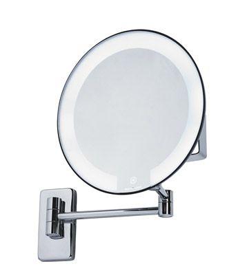 Amazon Miroir Grossissant miroir grossissant lumineux rond jvd cosmos noir | light sdb | pinterest