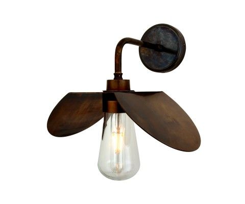 Our Contemporary Hali Wall Light By Mullan Lighting Will Provide A Touch Of Elegance And Style To Any Hom Wall Lights Antique Brass Wall Lights Brass Wall Lamp