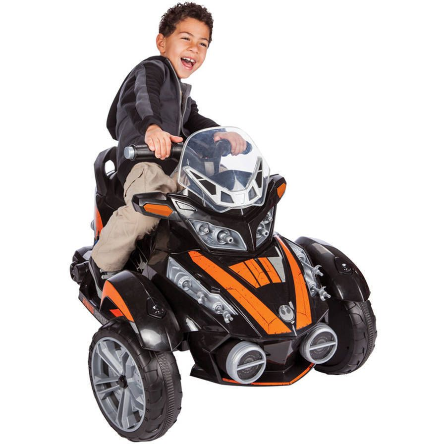 Battery Ed Electric Ride On Toy Star Wars X Wing 6v Black Kidstoys