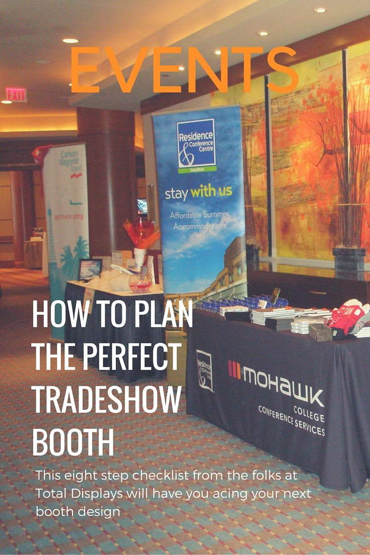 Exhibition Booth Checklist : Tips for planning the perfect trade show booth event planning