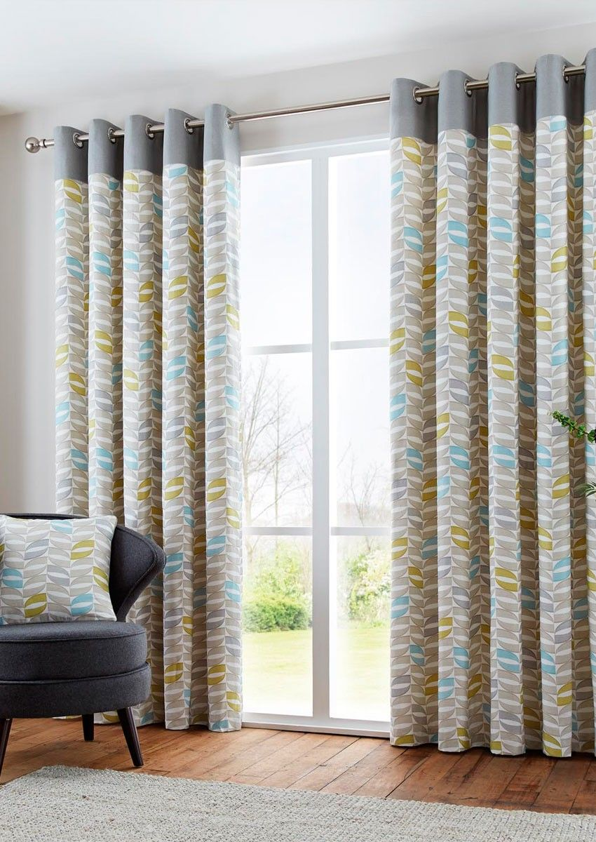 Copeland Duck Egg Eyelet - These distinctive design curtain can make a beautiful focal point of your room.