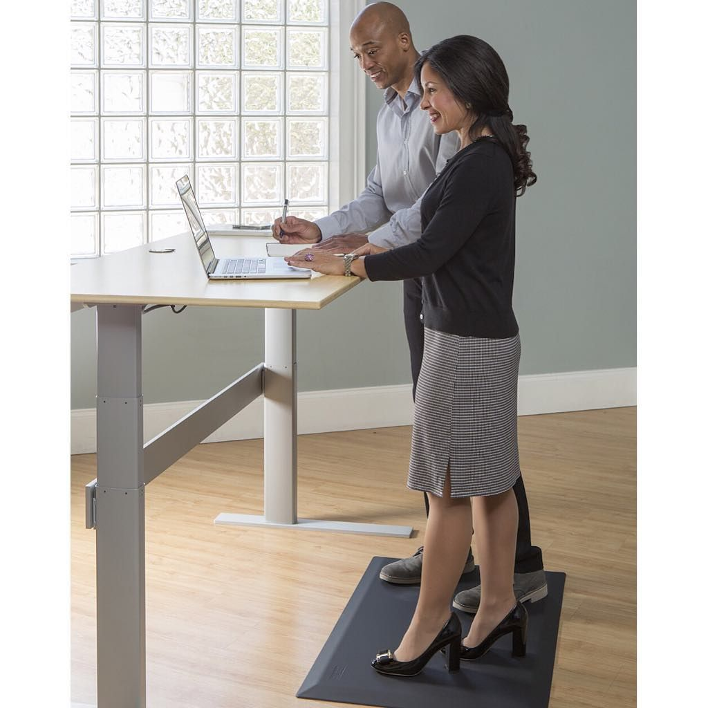 Check Out Or Cumuluspro Commercial Grade Anti Fatigue Comfort Mats Voted The 1 Standing Desk Anti Fatigue Mat By Office Health Anti Fatigue Mat Comfort Mats
