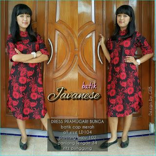 Baju Batik Kerja Wanita Grosir Batik Solo Baju Batik Pria Baju