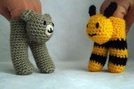 Finger puppets so cu - http://crochetimage.com/finger-puppets-so-cu-2/