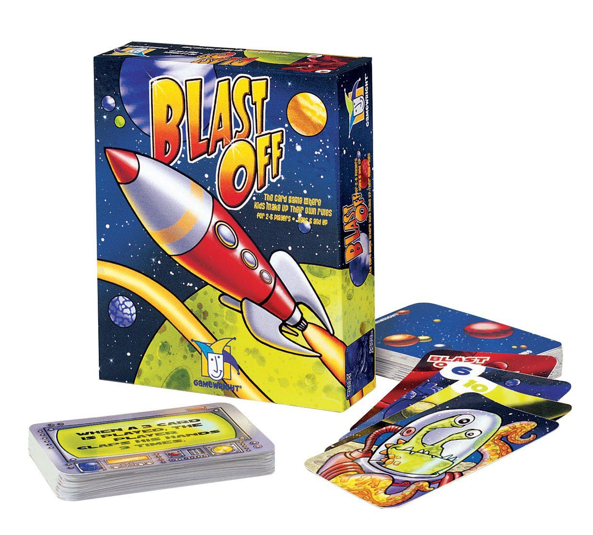 Gamewright Blast Off The Race Into Space Card Game. It's