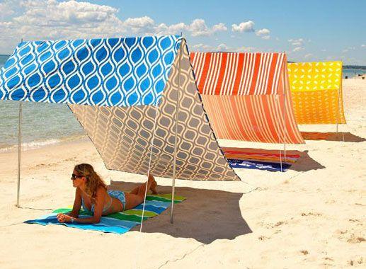 Sombrilla Carpa De Playa Sombrillas Para Playa Trucos Para La Playa
