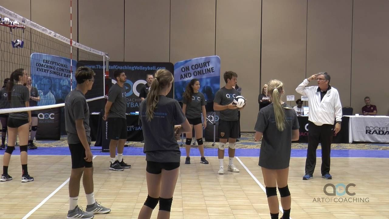 Focused And Laughter Inducing Small Group Drills In 2020 Coaching Volleyball Volleyball Drills Volleyball