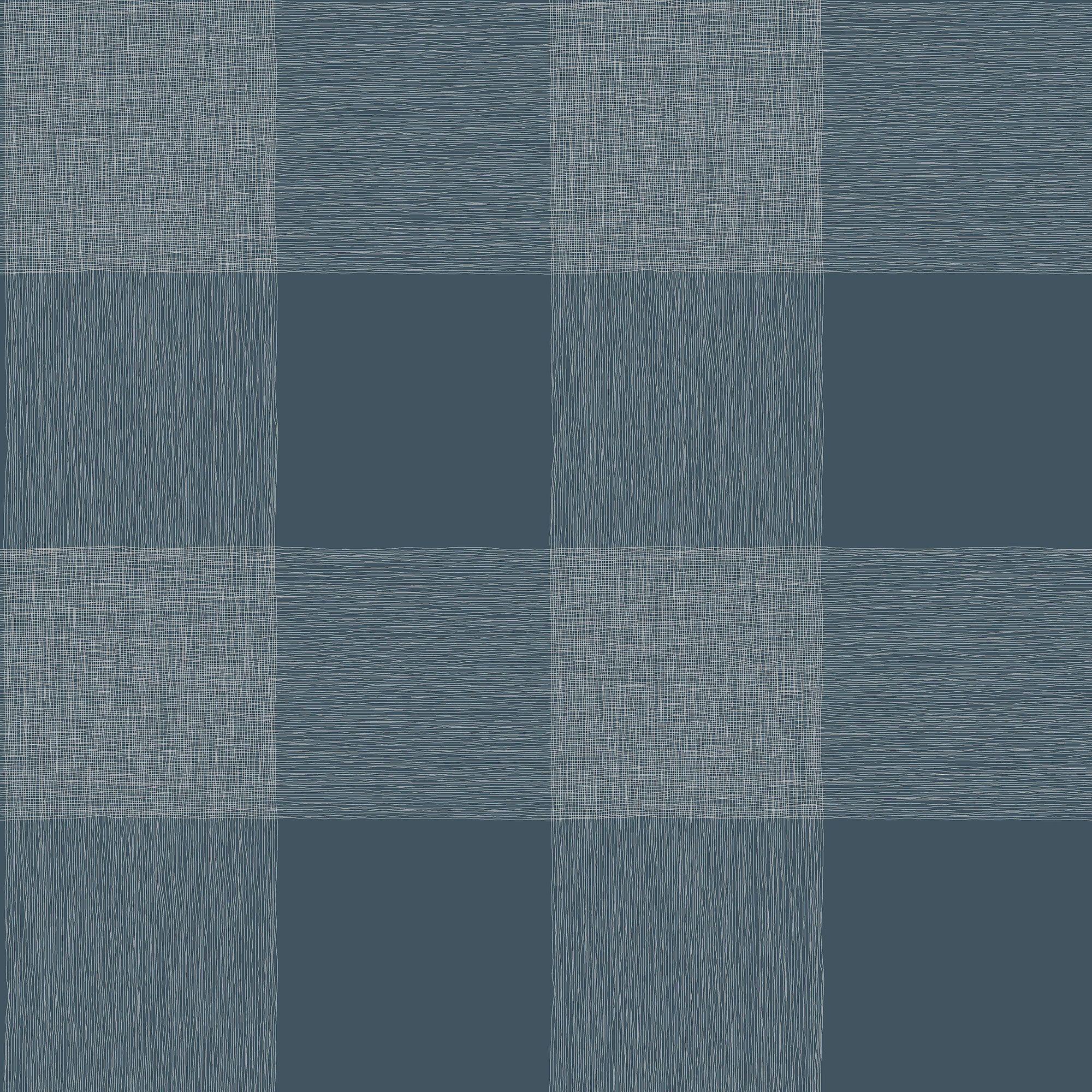 Magnolia Home Common Thread Wallpaper Navy Blue
