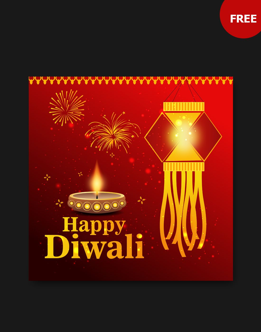 Diwali Vector Free Download Greeting Cards Pinterest Vector