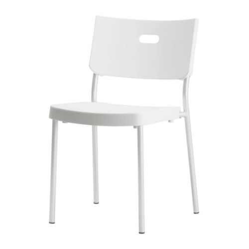 IKEA  HERMAN Chair You can stack the chairs so they