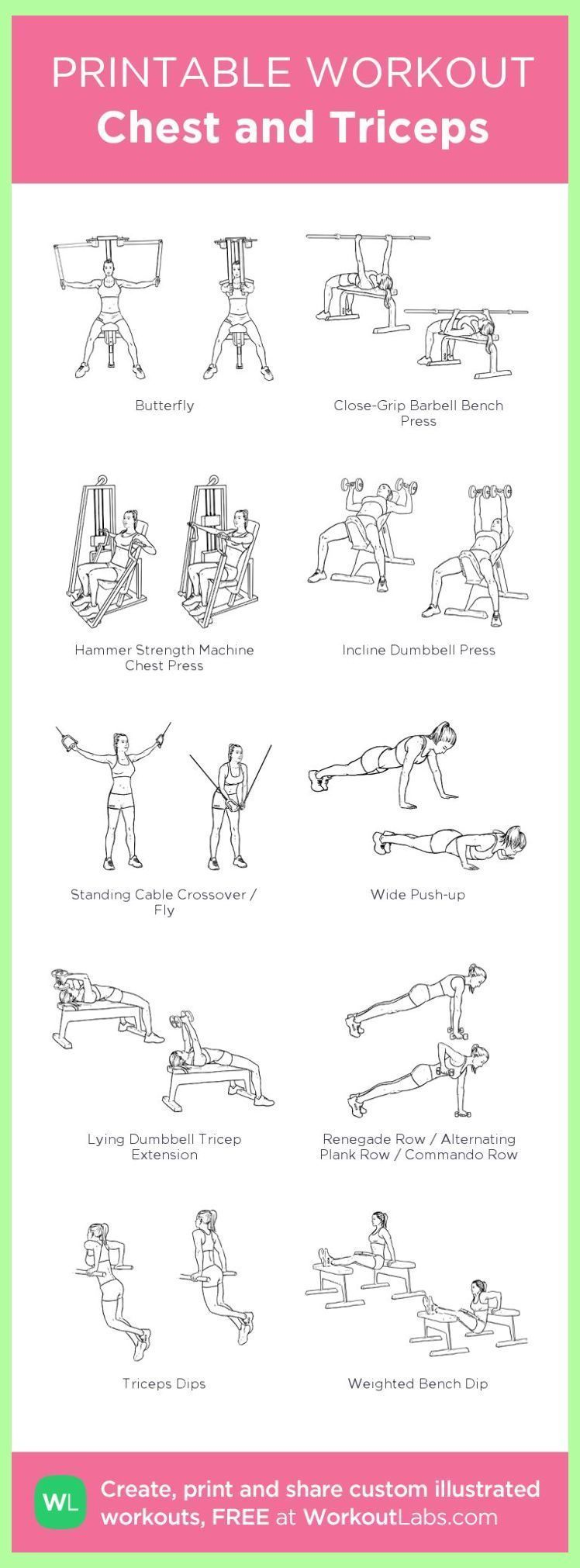 Chest and Triceps: my custom printable workout by WorkoutLabs #workoutlabs #customworkout | 3... #trapsworkout Chest and Triceps: my custom printable workout by WorkoutLabs #workoutlabs #customworkout | 3 Exercises For Triceps | Knee exercises |  Trap Workout For Women . #bodytransformation #WerkOut Stuff #trapsworkout Chest and Triceps: my custom printable workout by WorkoutLabs #workoutlabs #customworkout | 3... #trapsworkout Chest and Triceps: my custom printable workout by WorkoutLabs #w #trapsworkout
