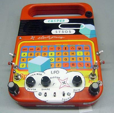 casperelectronics speak and spell st505 circuit bent speak and rh pinterest com