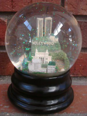 Hollywood snow globe.