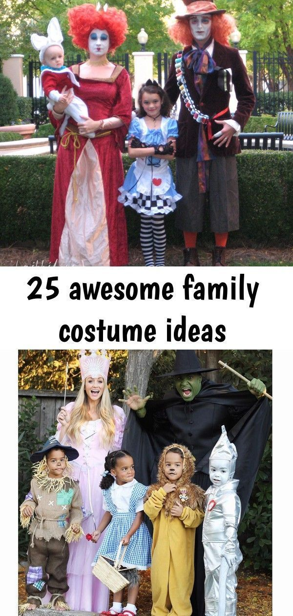 25 awesome family costume ideas 25 Awesome Family Costume Ideas   Babble Find some amazingly creative family Halloween costume ideas to make this Halloween the best one ever. Everything from DIY family costumes to family costumes with a baby. 70+ DIY College Halloween Costumes that'll Make you Say WOW! I'm gonna HAVE TO try that - Hike n Dip These college Halloween costumes are perfect for busy students who are short on time.   diy family halloween costumes with baby awesome #familycostumeideas  #familycostumeideas