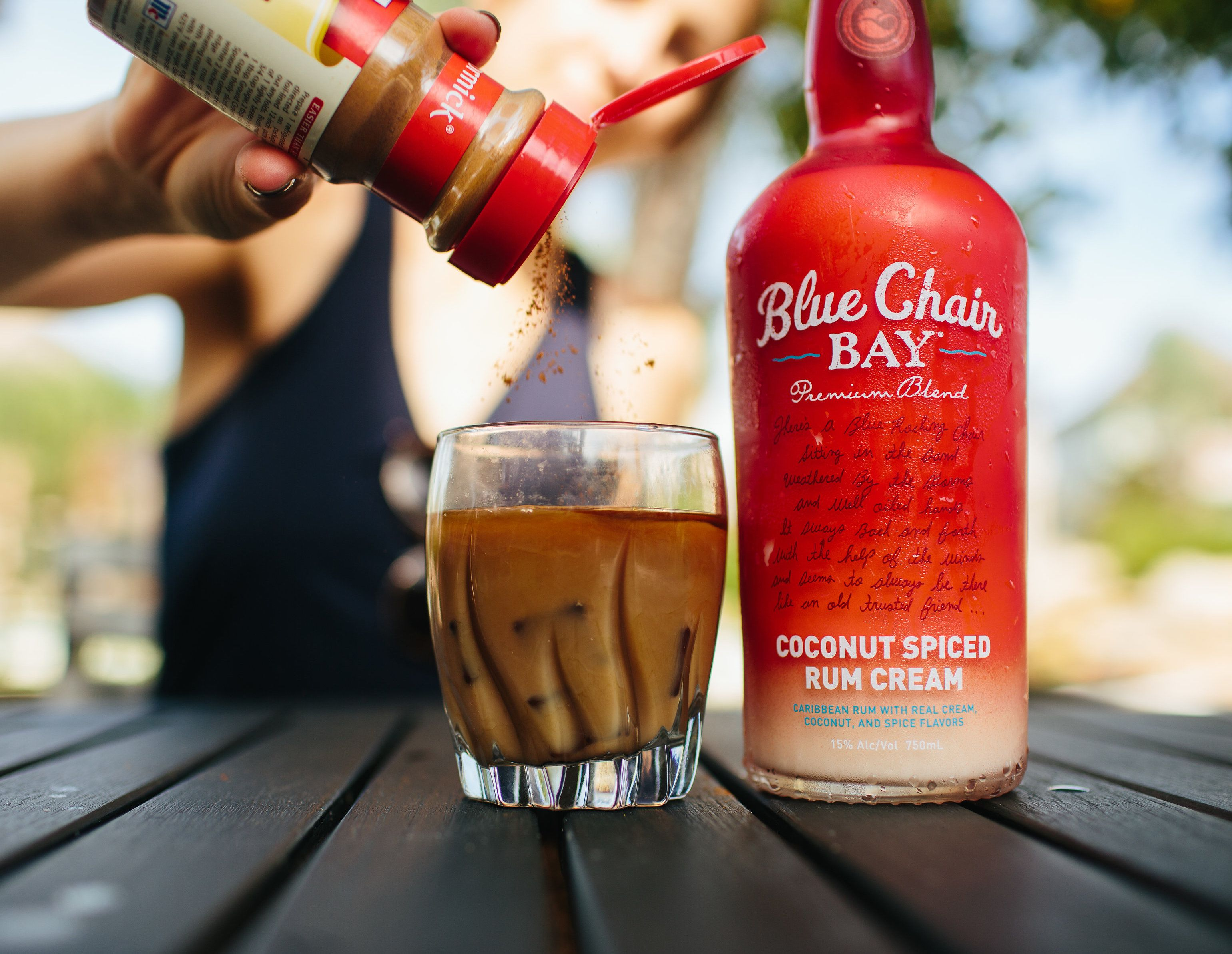 oceanfront coffee cocktail 1 oz blue chair bay coconut spiced